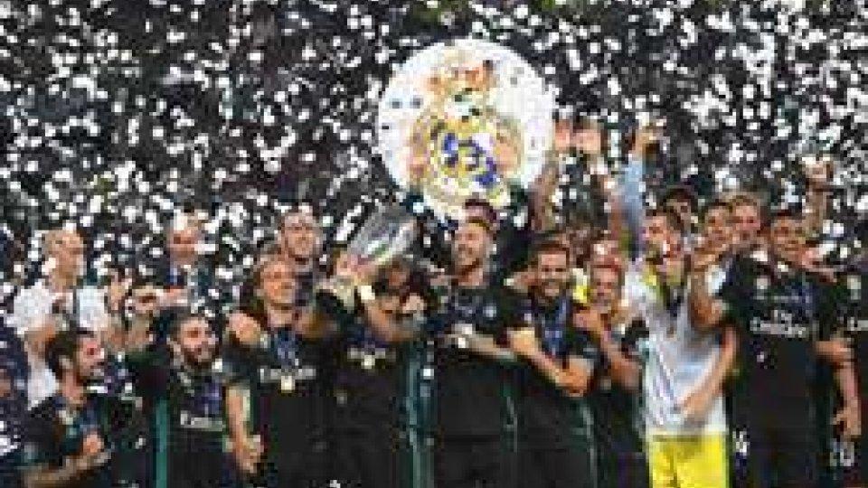 La Supercoppa europea va al Real Madrid