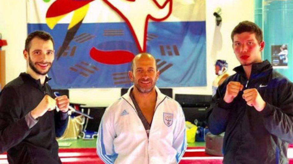 Taekwondo: Ceccarini e Leardini a Las Vegas per l'International Open 2019