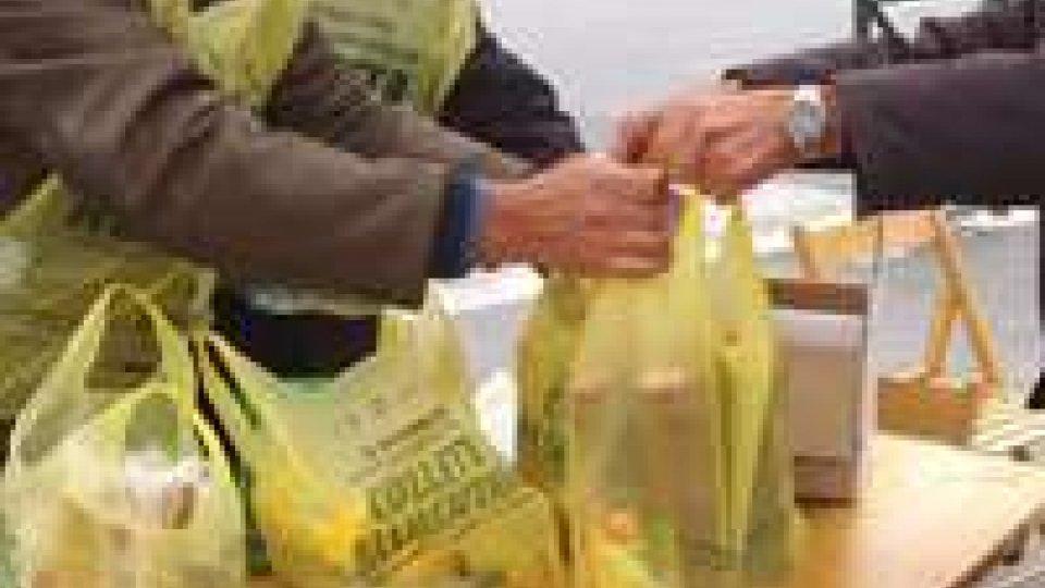 Colletta alimentare: sul Titano raccolti 13mila kg di alimenti