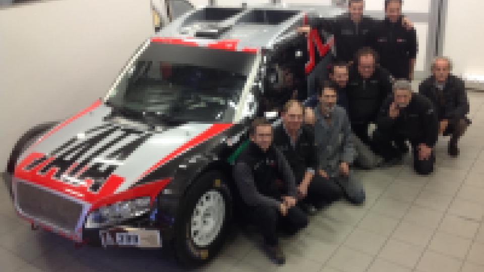 """Dakar: Cinotto-Zini guideranno la """"sammarinese"""" Audi Titano."""