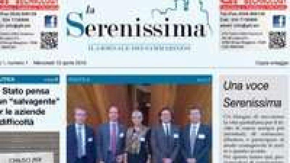 """San Marino: arriva """"La Serenissima"""" il giornale dei sammarinesi"""