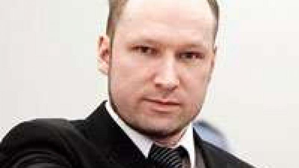Norvegia, riprende il processo contro Breivik