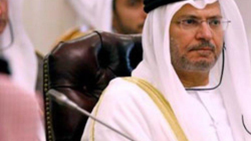 Anwar Gargash @thenational.aeEmirati: sostegno alla Nato dei Paesi arabi