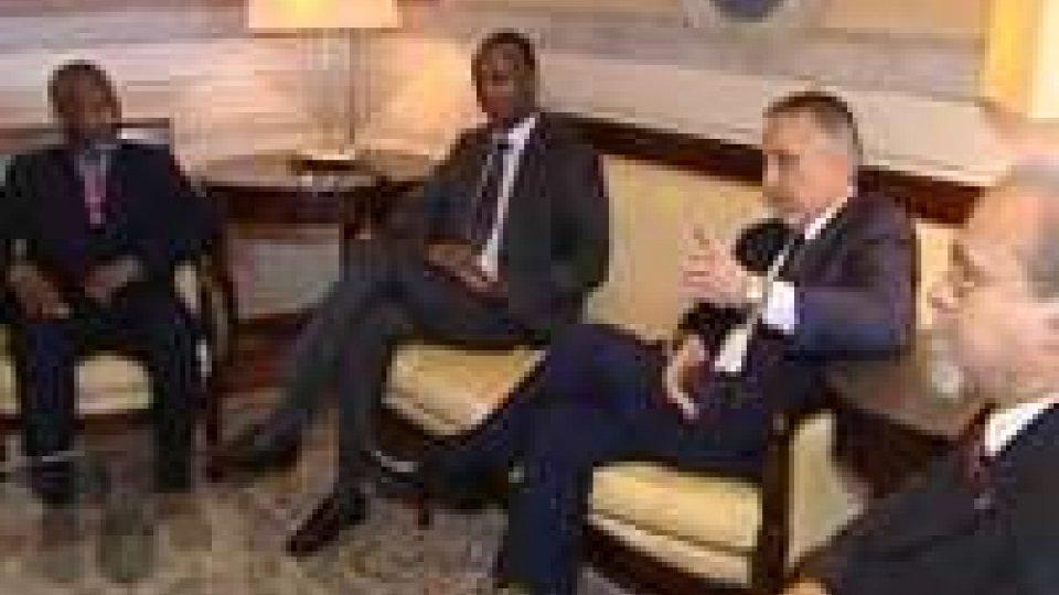 Valentini ha incontrato il ministro dell'integrazione del MaliValentini ha incontrato il ministro dell'integrazione del Mali