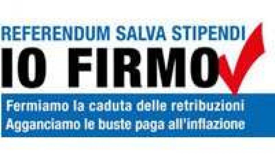 """San Marino - La CDLS apre la campagna referendaria dal titolo """"Io firmo"""""""