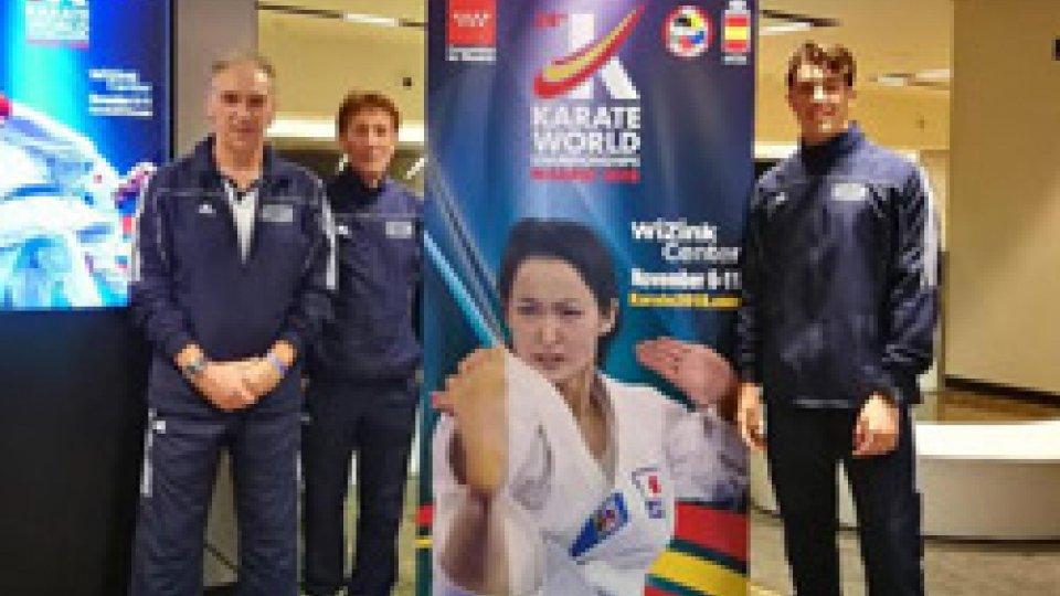Spagna: San Marino al Campionato del Mondo in Karate