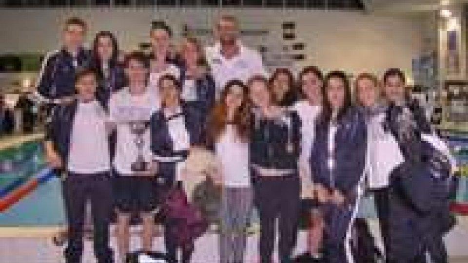 Veterani Gens Aquatica , terzo posto nella classifica a squadre