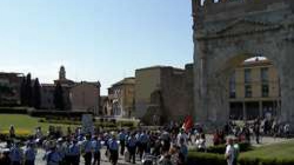 Lacelebrazione del25 aprile a RiminiDa Parco Cervi a Piazza Cavour. Lacelebrazione del25 aprile a Rimini
