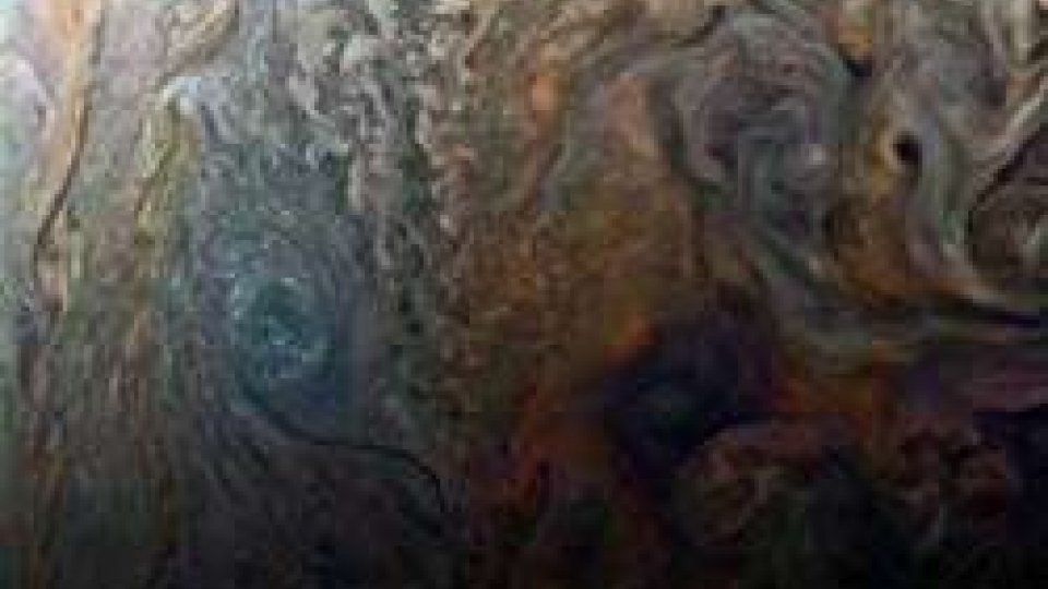 scatto della sonda Juno (ph Twitter)