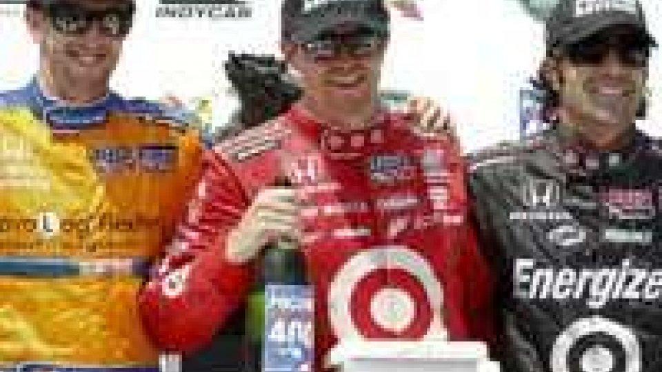 Scott Dixon ha vinto la gara di Indycar 400 a Long Pond in PensilveniaScott Dixon ha vinto la gara di Indycar 400 a Long Pond in Pensilvenia