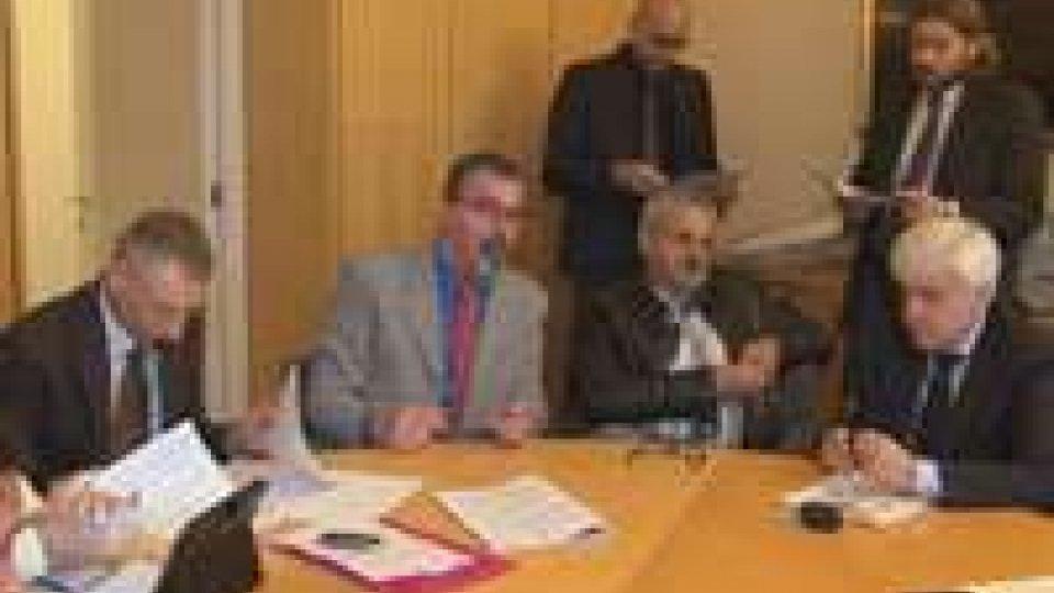 Consiglio: incontro capigruppo - sindacati su decreto solidarietà familiare