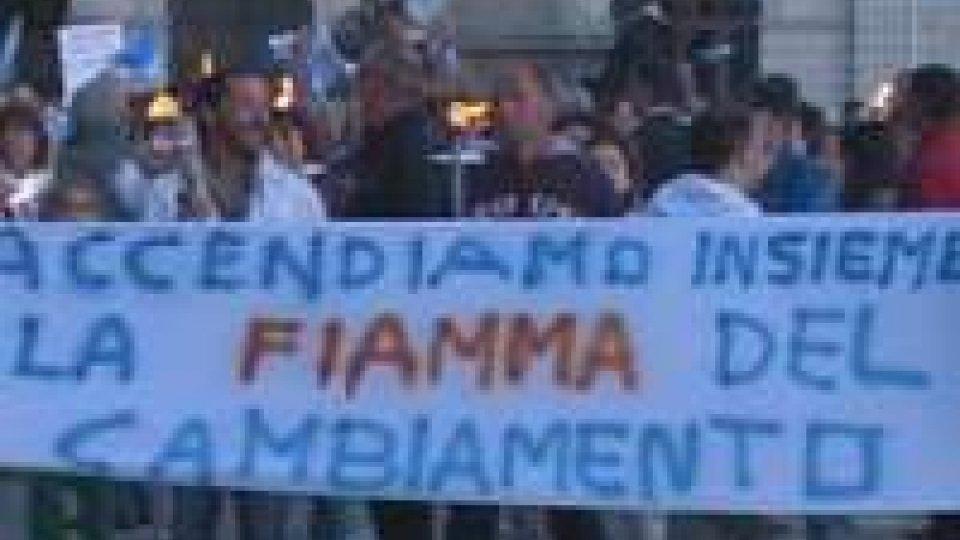 Marcia per San Marino: per l'Usl distribuite circa 500 fiaccole