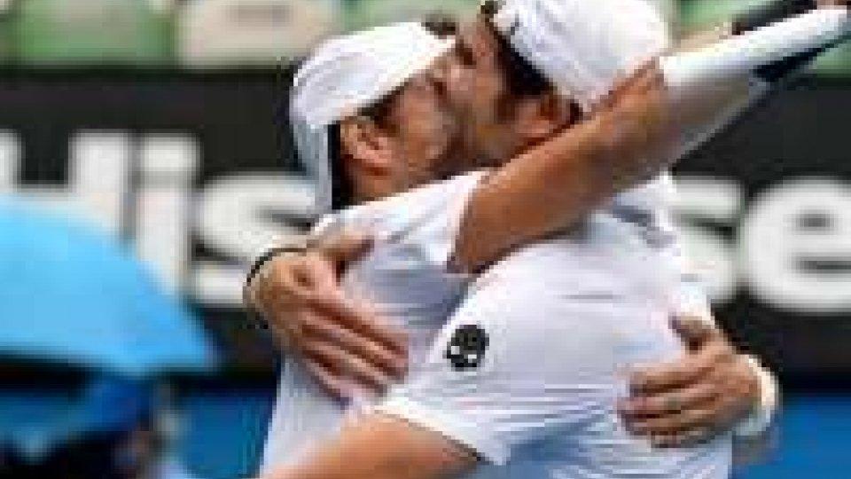 Australian Open: Bolelli-Fognini nella storia