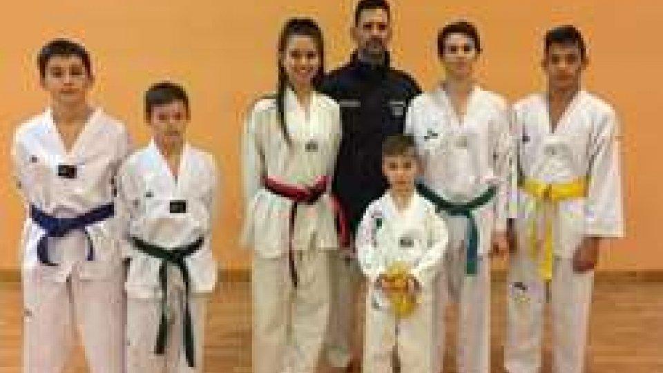Il Taekwondo San Marino a Modena per l'interregionale Emilia Romagna