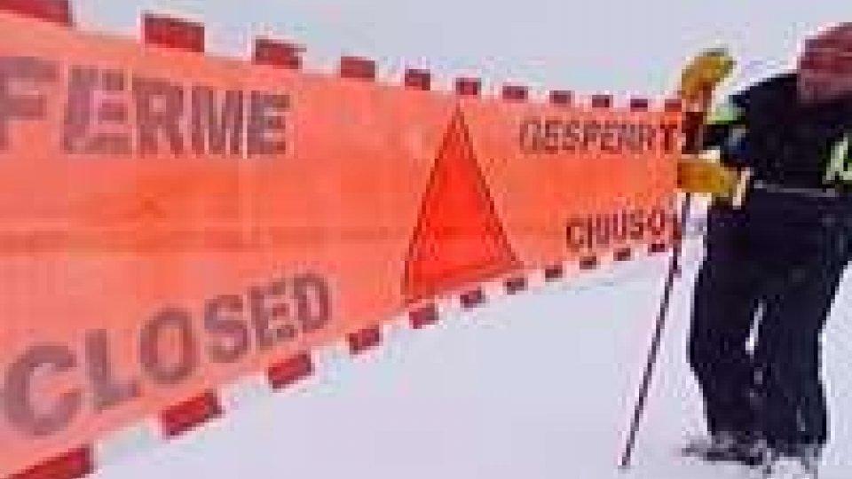 Maltempo: emergenza valanghe, altri due sciatori morti, intanto c'è apprensione per il Po