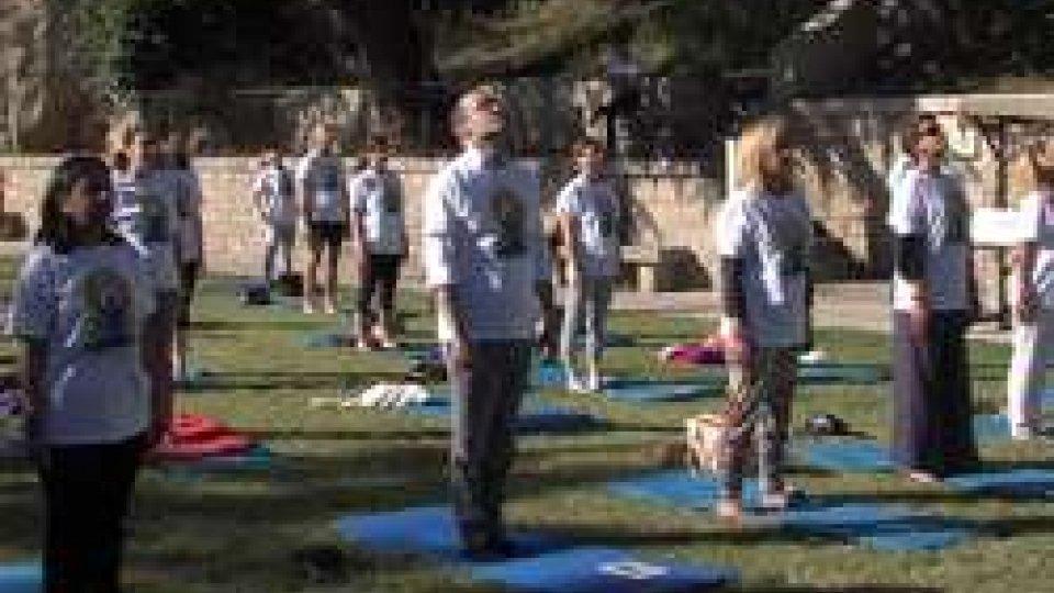 Yoga day al campo Bruno ReffiInternational yoga day: al campo Bruno Reffi momenti di relax e meditazione