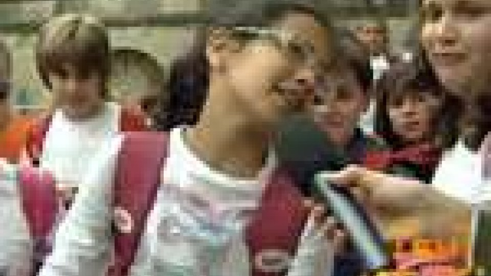 San Marino - Ultimo giorno di scuola per le elementari sammarinesi