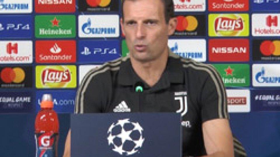 """Massimiliano AllegriChampions, Allegri: """"La partita va presa nel modo giusto"""""""