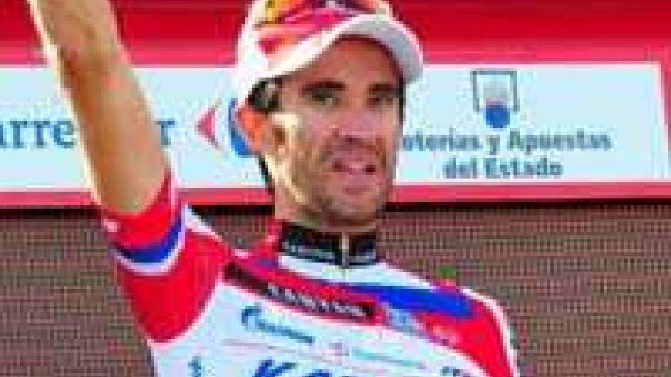 Vuelta: Moreno vince la tappa e prende la maglia rossa