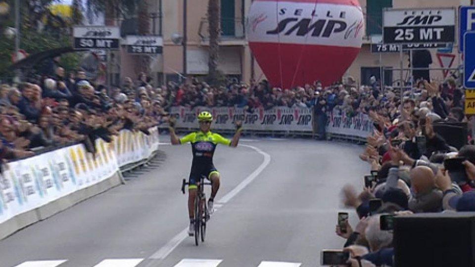 Velasco al Trofeo LaiguegliaCiclismo, l'assolo di Velasco al Trofeo Laigueglia