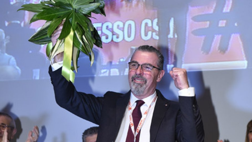 Giuliano TamagniniCsdl: Giuliano Tamagnini rieletto alla carica di Segretario Generale
