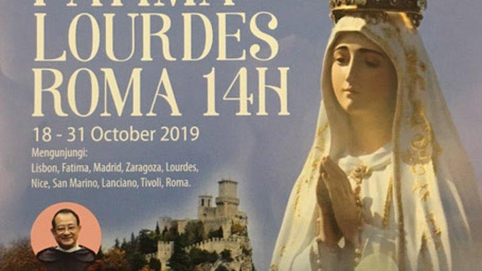 San Marino meta turistica del pellegrinaggio della comunità cattolica indonesiana