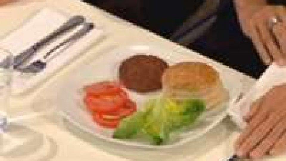 Il primo hamburger artificialeIl primo hamburger artificiale