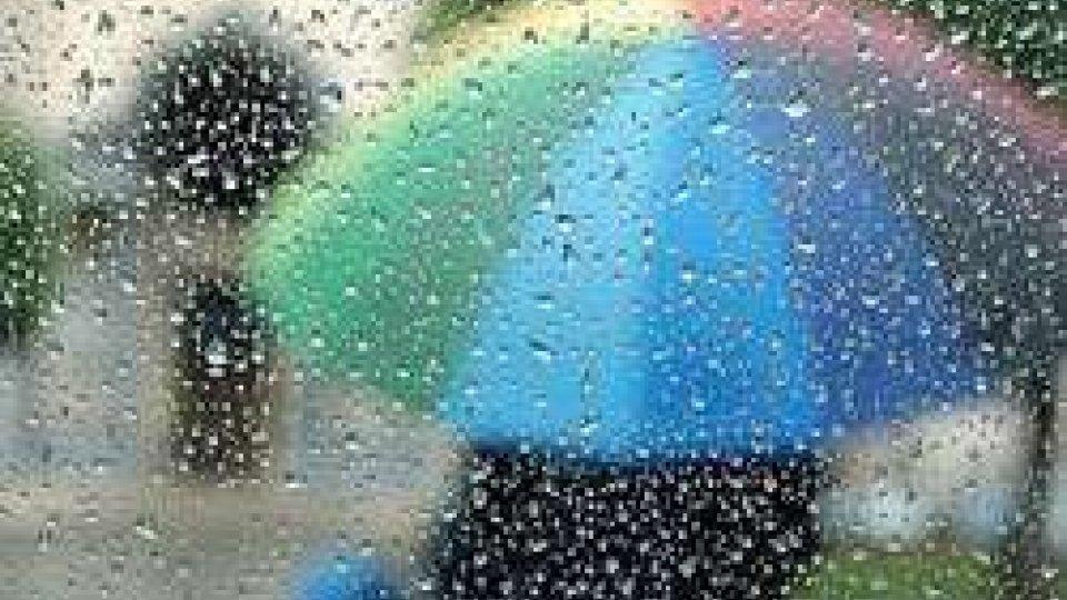 Fine settimana di piogge: allerta dalla Protezione Civile