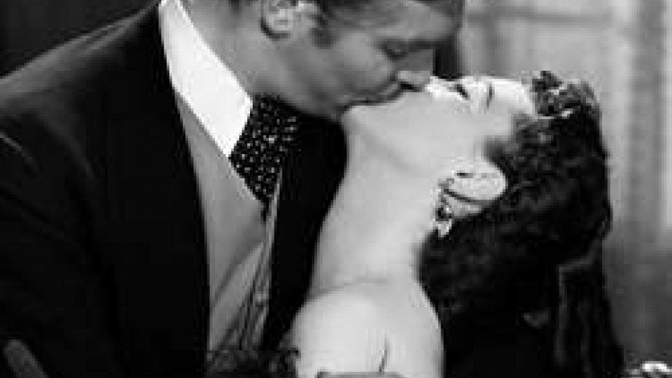 Clark Gable e Vivien Leigh in Via col vento