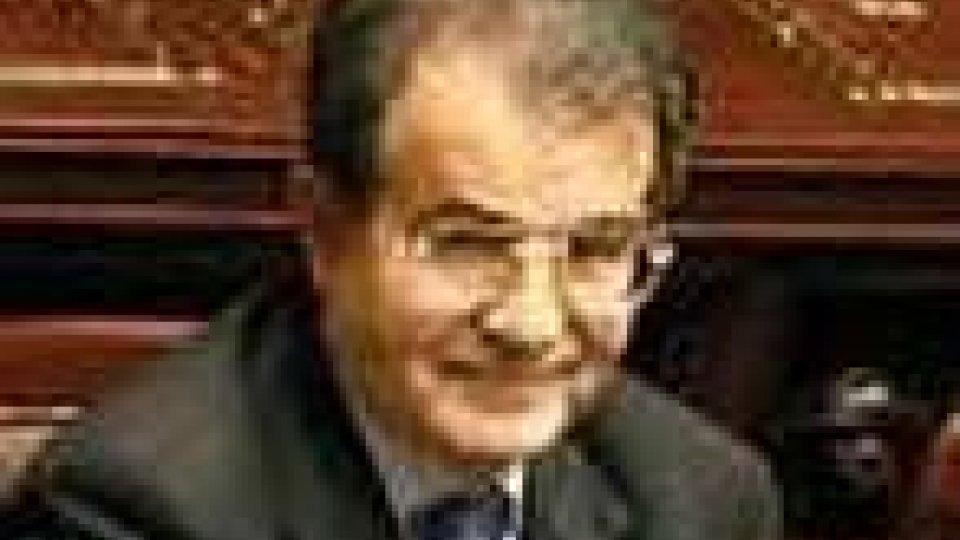 Il premier italiano, Romano Prodi
