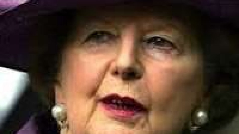 Thatcher: in suo onore memoriale in stile USA