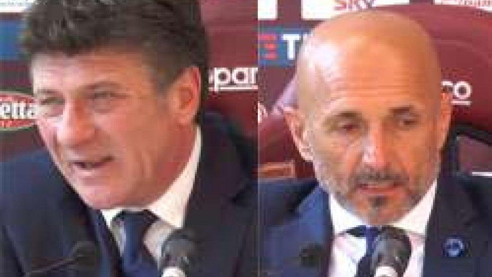 Walter Mazzarri e di Luciano SpallettiTorino - Inter 1-0 le interviste agli allenatori