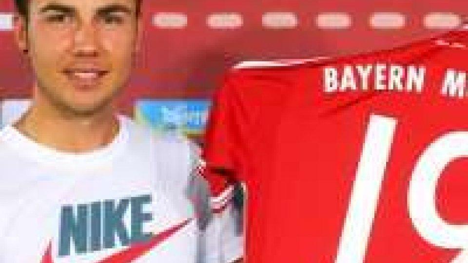 Bayern Monaco, Götze parte con una multa.