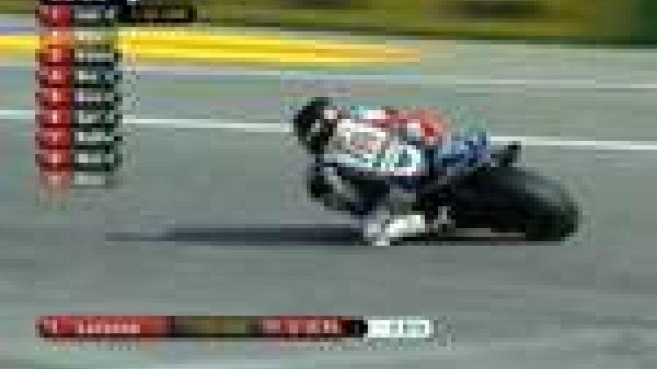 MotoGp, a Valencia il più veloce è Lorenzo. Rossi 9°