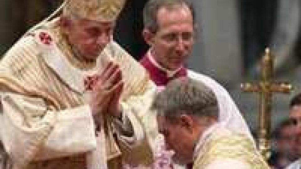 Vaticano: ordinati quattro nuovi vescovi