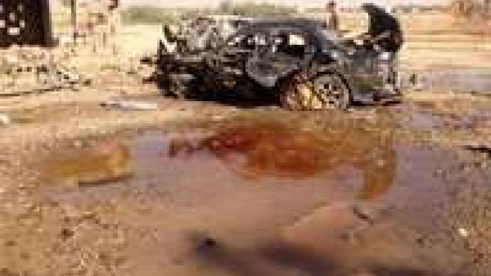 Iraq: morti e feriti in attentati contro sicurezza e minoranze