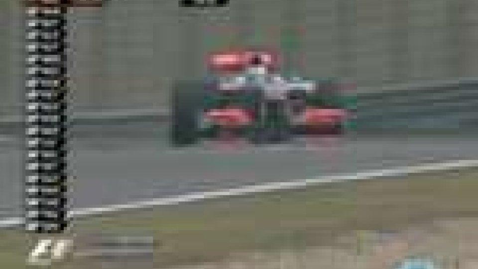 Dominio McLaren nella prima giornata di prove libere del Gp della CinaDominio McLaren nella prima giornata di prove libere del Gp della Cina