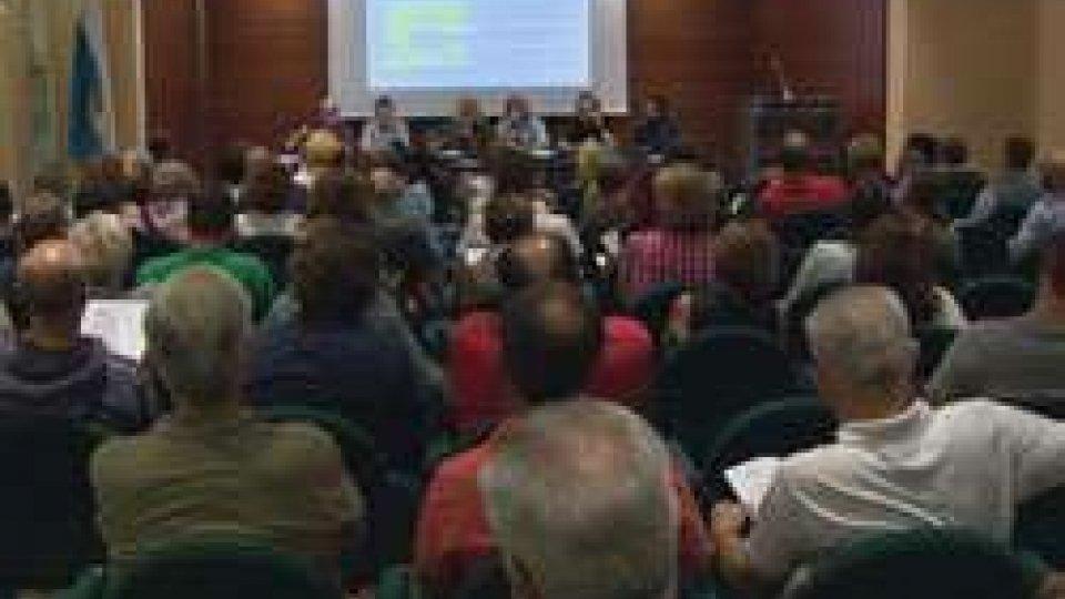 la sala Montelupo di DomagnanoPolo del lusso: l'opposizione spiega la convenzione a Domagnano