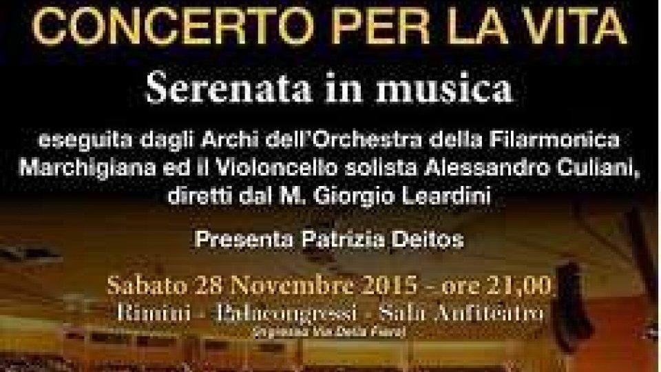 """Beneficenza, a Rimini ritorna il """"Concerto per la vita"""""""