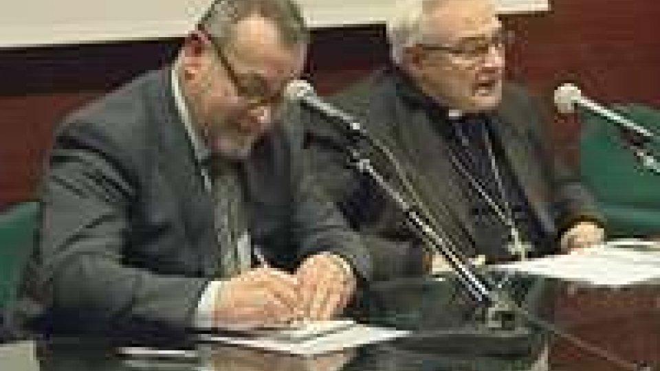 A Domagnano si è parlato di trasmissione della fede con il Vescovo Negri