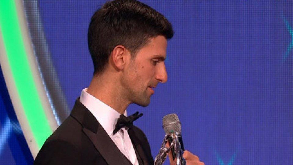 Djokovic vince il Luareus AwardDjokovic vince il Luareus Award come sportivo dell'anno