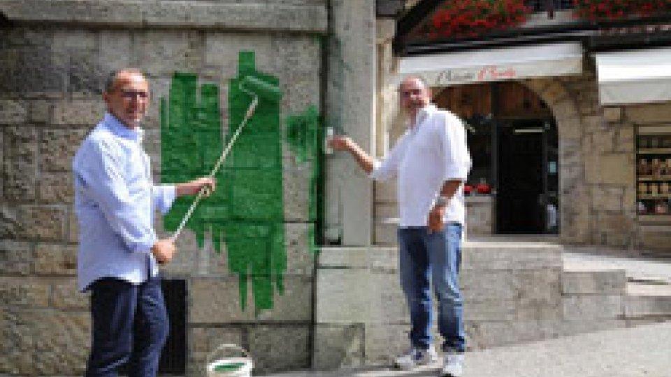 In autunno il centro storico si tinge di verde
