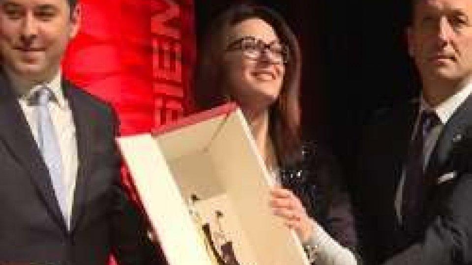 Alessandra Perilli - Teodoro Lonfernini - Gian Primo GiardiSport Awards: atleta dell'anno Alessandra Perilli