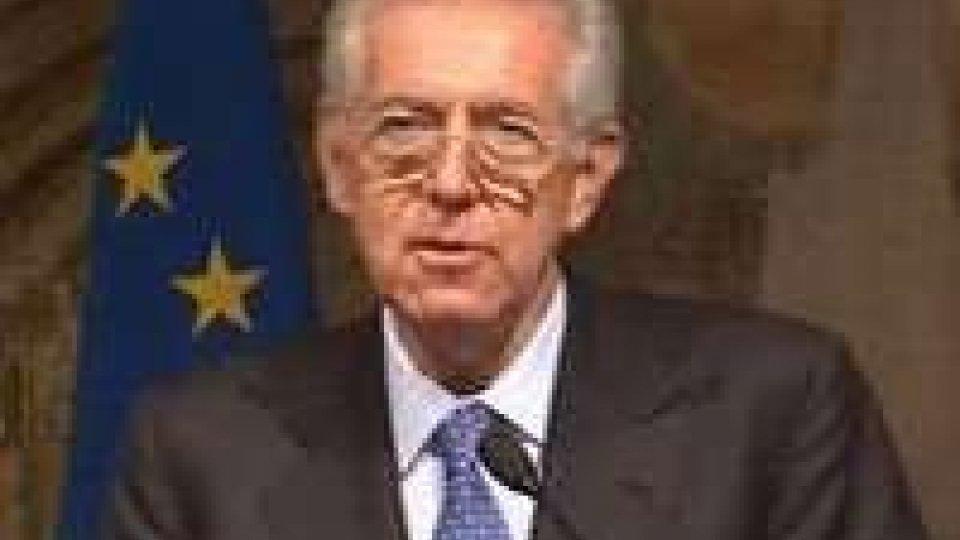 Monti in serata consegnerà dimissioni al Colle