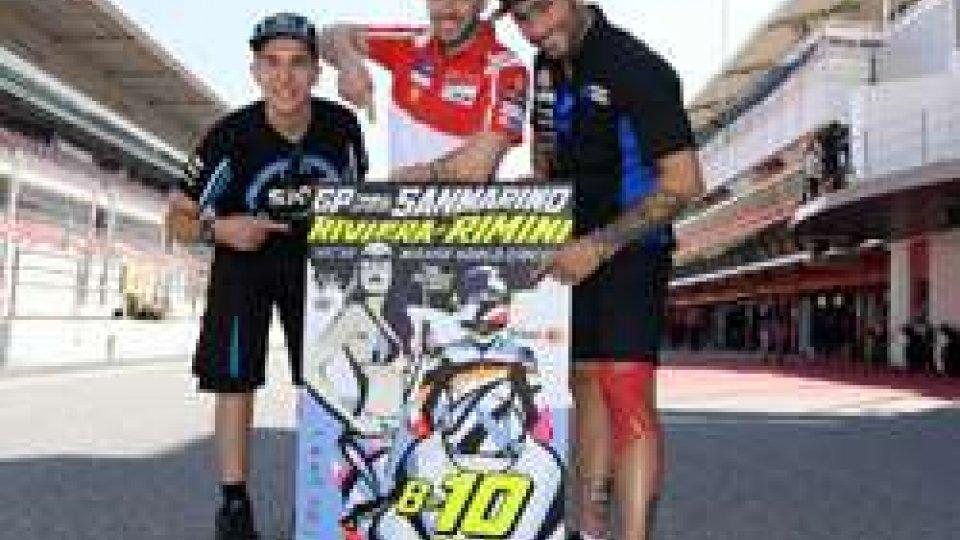 Presentato a Barcellona il poster del GP Tribul Mastercard di San Marino
