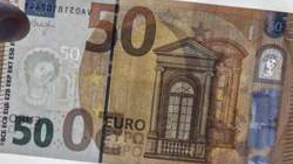 Da oggi in circolazione la nuova banconota da 50 euro