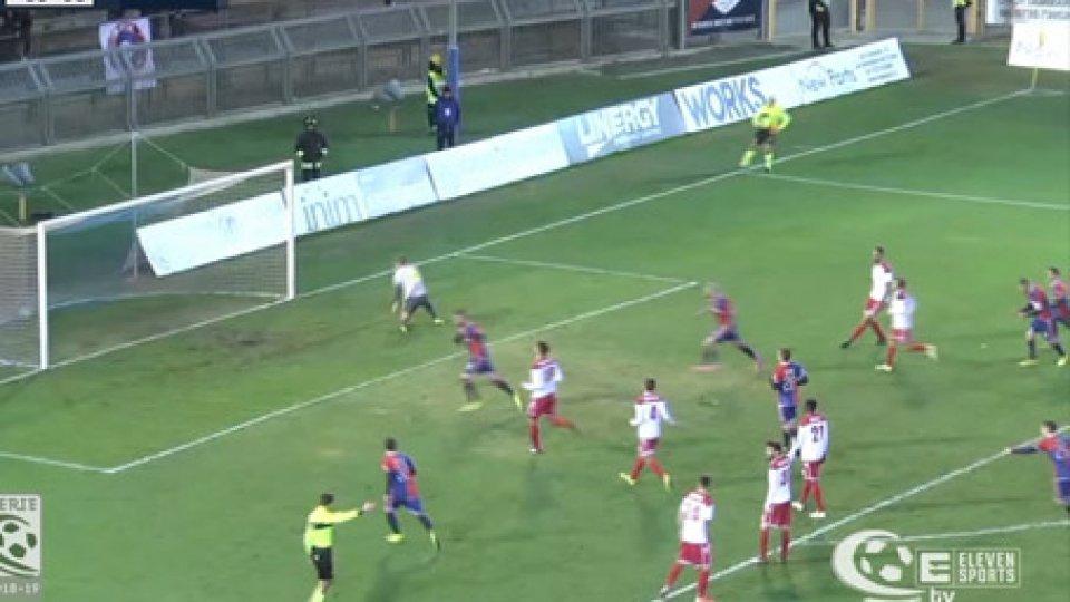 Rimini-SambenedetteseSerie C: La Sambenedettese di rigore piega il Rimini nel finale