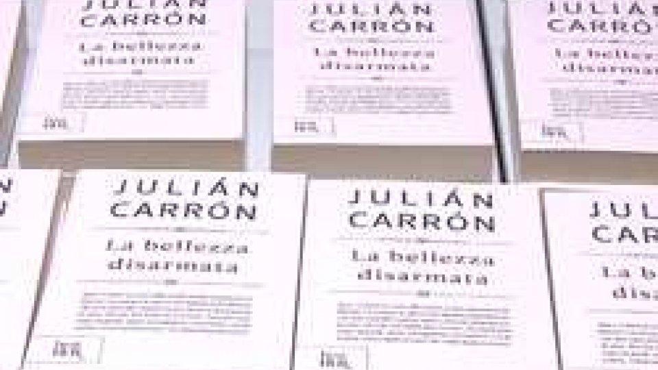 """""""La bellezza disarmata"""" di Julian Carron presentato a Domagnano"""