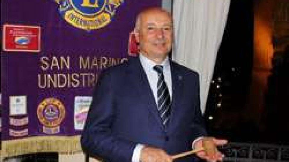 Augusto Valentini nuovo Presidente del Lions Club San Marino Undistricted