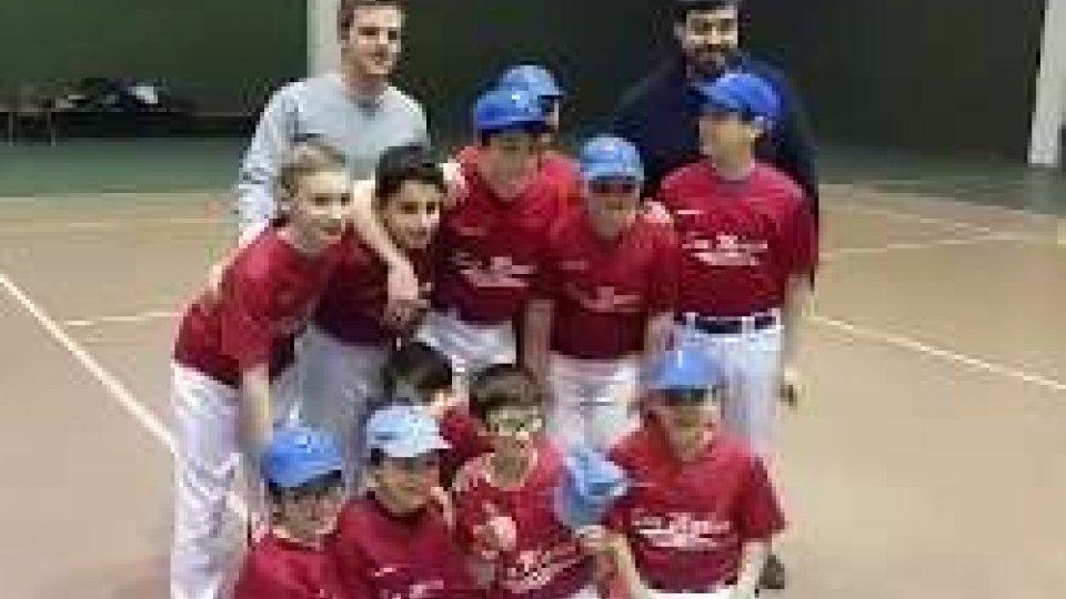 La San Marino Baseball vince la Winter League RagazziLa San Marino Baseball vince la Winter League Ragazzi